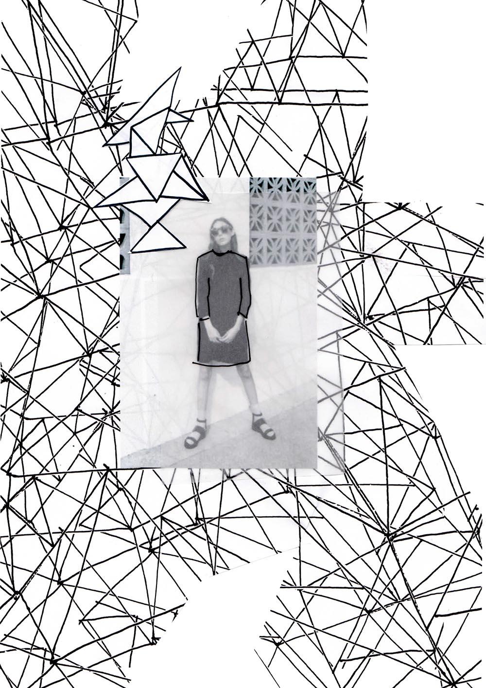 Du möchtest gerne selber eine Collage machen, aber weißt nicht genau wo du anfangen sollst ? Dann hab ich eine 'Anleitung' für dich, wie du in 5 Schritten eine schöne Collagen machen kannst. | Hermine on walk | Mode Collagen | Graphic Design | Kunst Collagen |Mode Illustration | Fashion Collage