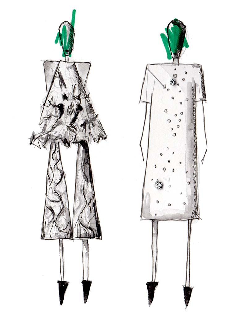 Erfahrt, welche 5 Schritte ich gerne befolge, wenn ich eine eigenen Modekollektion entwerfen möchte. Lest diesen Post und probiert sie aus ! Hermine on walk | Mode Design | Fashion Design | Fashion Illustration | Fashion Sketch
