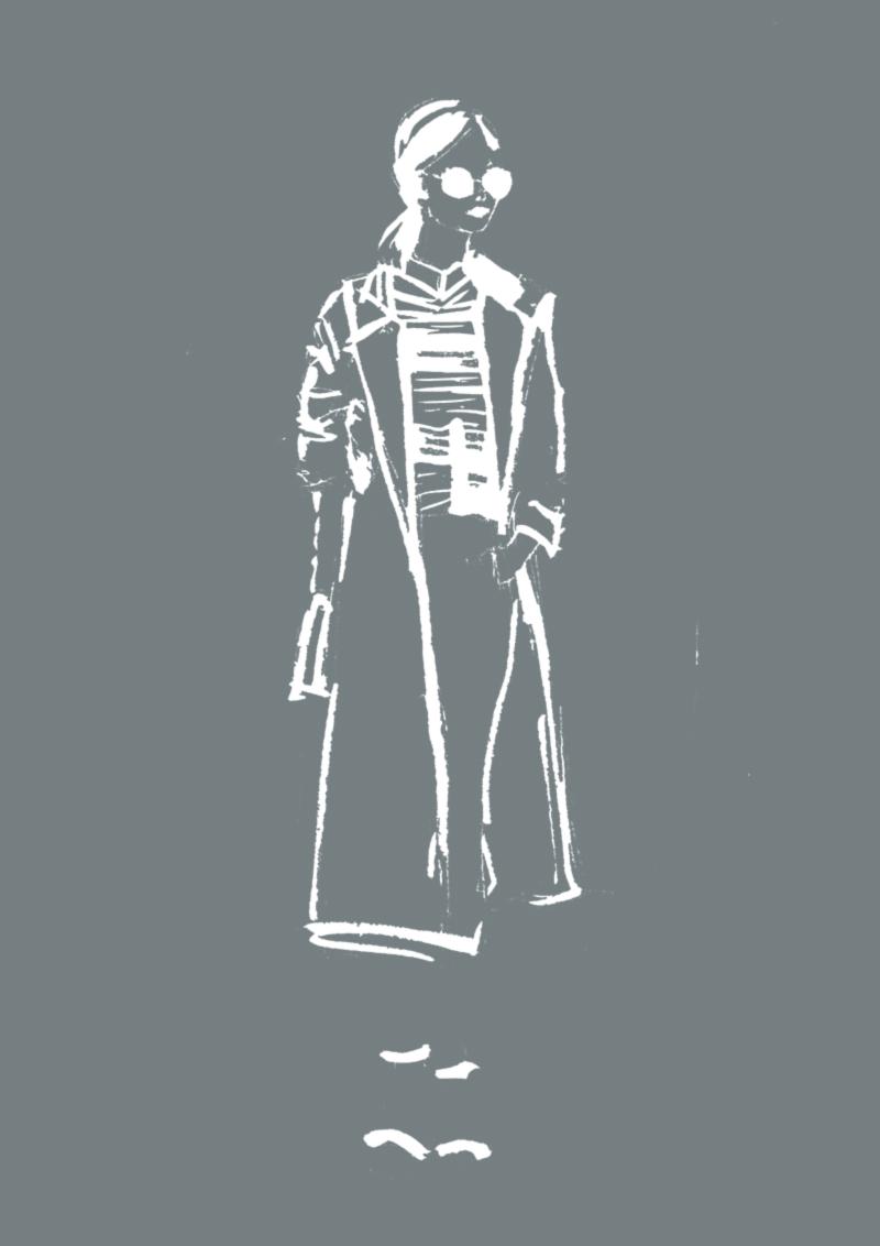 So zeichnest du MODE ILLUSTRATIONEN, auch wenn deine Kreativität gerade nicht zu existieren scheint + 3 TIPPS gegen Kreativitätslosigkeit | Hermine on walk | Mode Illustration | Fashion Illustration | Sketchbook | Fashion Sketch | Fashion Sketchbook | Black and white Illustration | Fashion Sketchbook