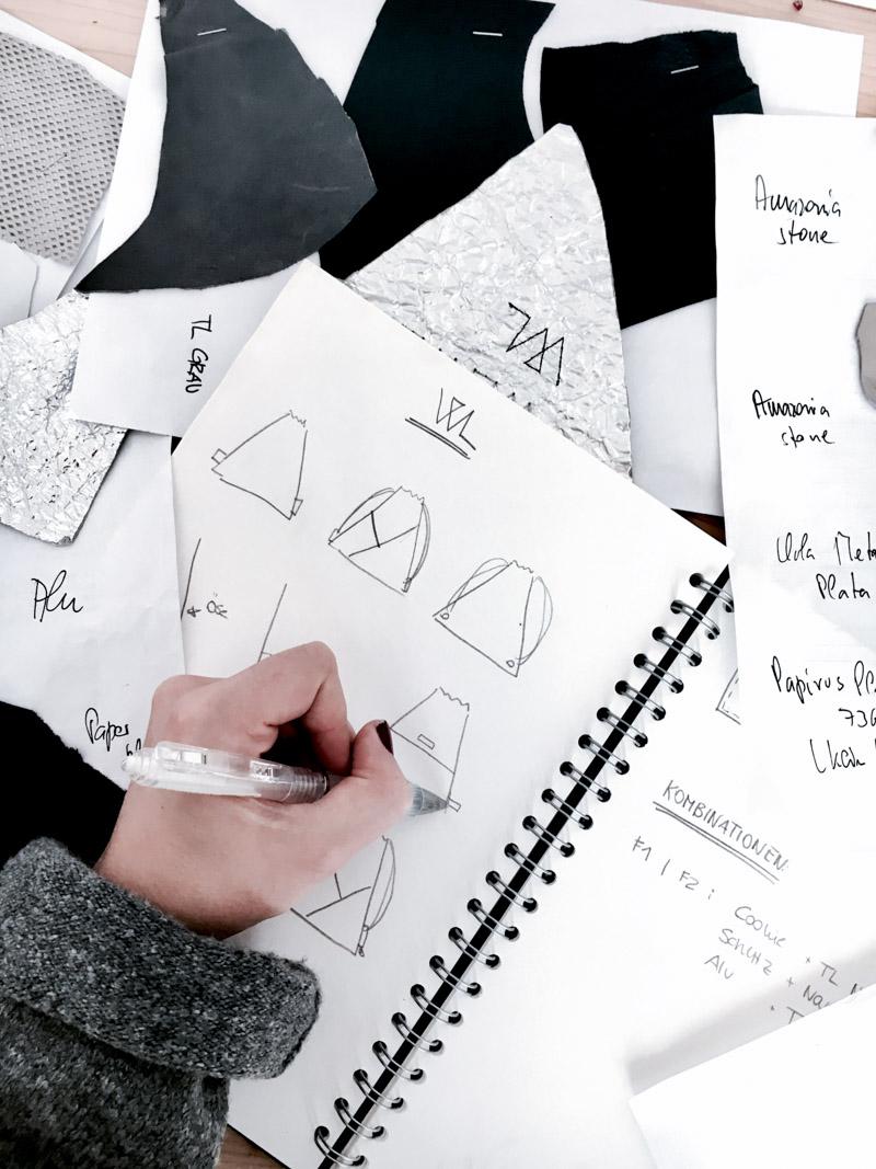 Erfahrt, wie ich Turnbeutel für das Mode Label Wunschleder designe und in welchen Aufgabenbereiche ich noch involviert bin. Schaut vorbei ! | Hermine on walk | Streetstyle | Minimal Fashion | Turnbeutel