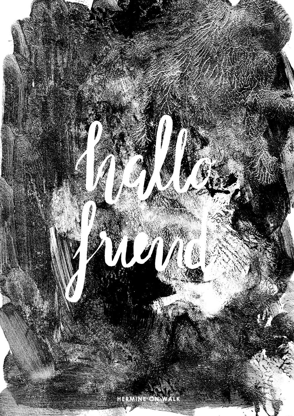 Erfahrt in einer ausführlichen Anleitung, wie ihr ein Handlettering erstellt. Außerdem gibt's meine Arbeiten und viel Inspiration zu sehen. Schaut vorbei! Hermine on walk | Graphic Design | Fonts | Quotes
