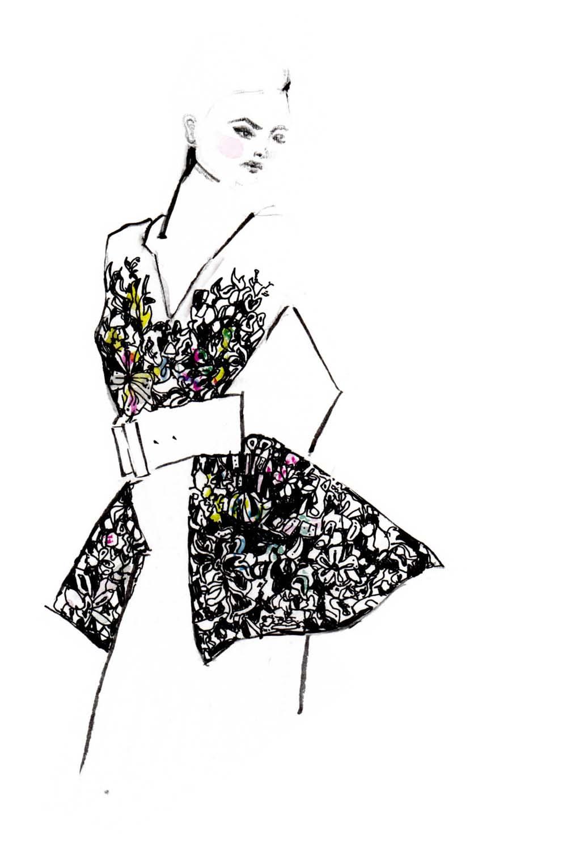 Erfahre, wie du deine eigenen Modezeichnungen erstellen kannst und auf was du achten musst + einfach Erklärung in 3 Schritten. Fashion Illustrations   Fashionsketch   Fashionsketchbook  ModeIillustration   Hermine on walk