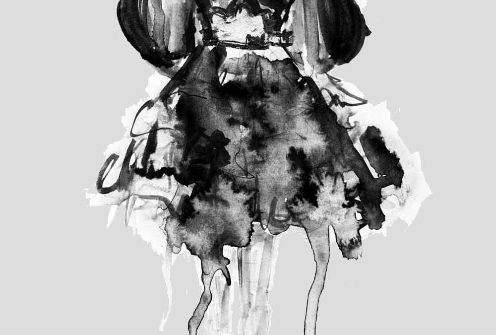 Mode Skizzen von Alexander McQueen – so sind sie entstanden
